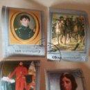 Sellos: SELLOS YEMEN NORTE (R.D.YEMEN) MTDO/1969/II CENT NACIMIENTO NAPOLEON/CABALLOS/UNIFORMES/TROPAS/RETRA. Lote 158690465