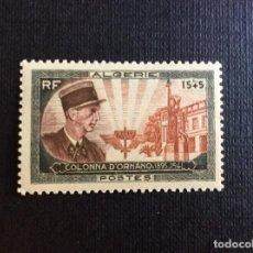 Timbres: ARGELIA Nº YVERT 286*** AÑO 1951. 10 ANIVERSARIO MUERTE CORONEL COLONNA D´ORNANO. Lote 168641308