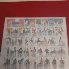 Sellos: UNIFORMES MILITARES ESPAÑA SERIES 1973/1978 SERIES NUEVAS PERFECTAS INCLUYENDO TODAS SERIES. Lote 177698835