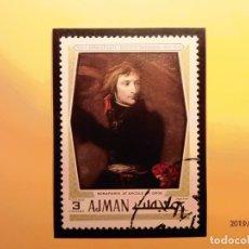 Sellos: AJMAN - NAPOLEON BONAPARTE.. Lote 178815772