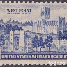 Sellos: 1936 - ESTADOS UNIDOS - U.S.A. - ESCUELA MILITAR WEST POINT - YVERT 359. Lote 178859575