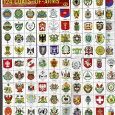 Sellos: 124 SELLOS * COATS - OF - ARMS OF THE WORLD * ( ESCUDOS DE ARMAS DEL MUNDO ). Lote 182173721
