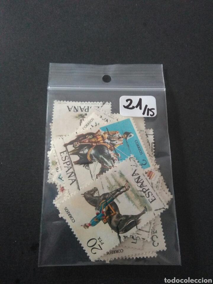 Sellos: Lote 21 sellos , tematica militar - Foto 3 - 182752020