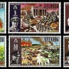 Sellos: GRENADA 1970 ANIVERSARIO II GUERRA MUNDIAL . Lote 191312758