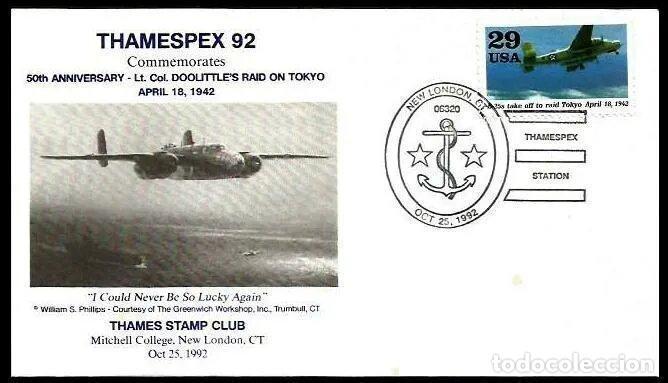 USA 1992 RAID AEREO SOBRE TOKIO (Sellos - Temáticas - Militar)
