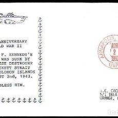 Sellos: USA 1993 JOHN F. KENNEDY EN LA II GUERRA MUNDIAL . Lote 191489153