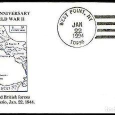 Sellos: USA 1994 II WW DESEMBARCO EN ANZIO . Lote 191491538