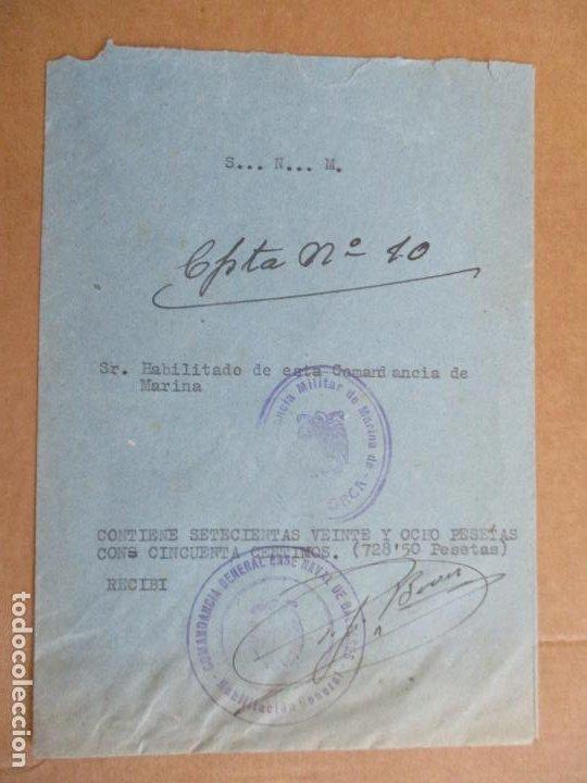 HABILITACION COMANDANCIA MILITAR DE MARINA DE MALLORCA BALEARES (Sellos - Temáticas - Militar)