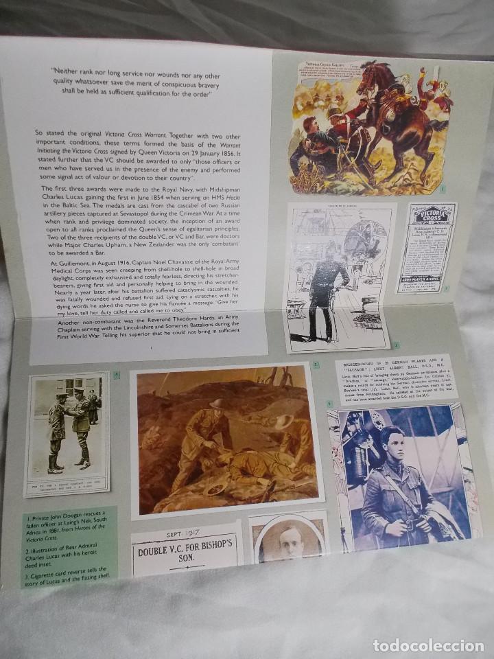 Sellos: 150 YEARS OF THE VICTORIA CROSS LOTE DE SELLOS CONMEMORATIVOS DE REINO UNIDO - Foto 2 - 194594880