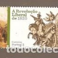 Sellos: PORTUGAL ** & REVOLUCIÓN LIBERAL DE 1820-2019 (1592). Lote 195047445