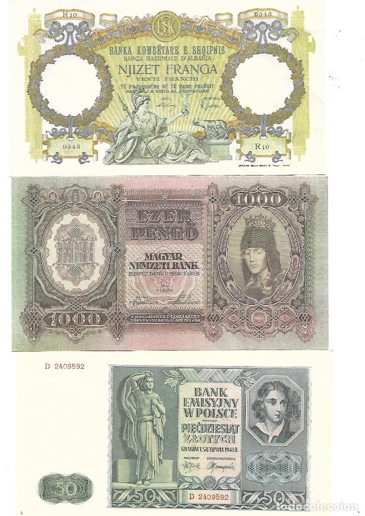 Sellos: BILLETES DE LA COLECCION 70 aniversario de la II guerra mundial. Sellos y Billetes. - Foto 4 - 197826920
