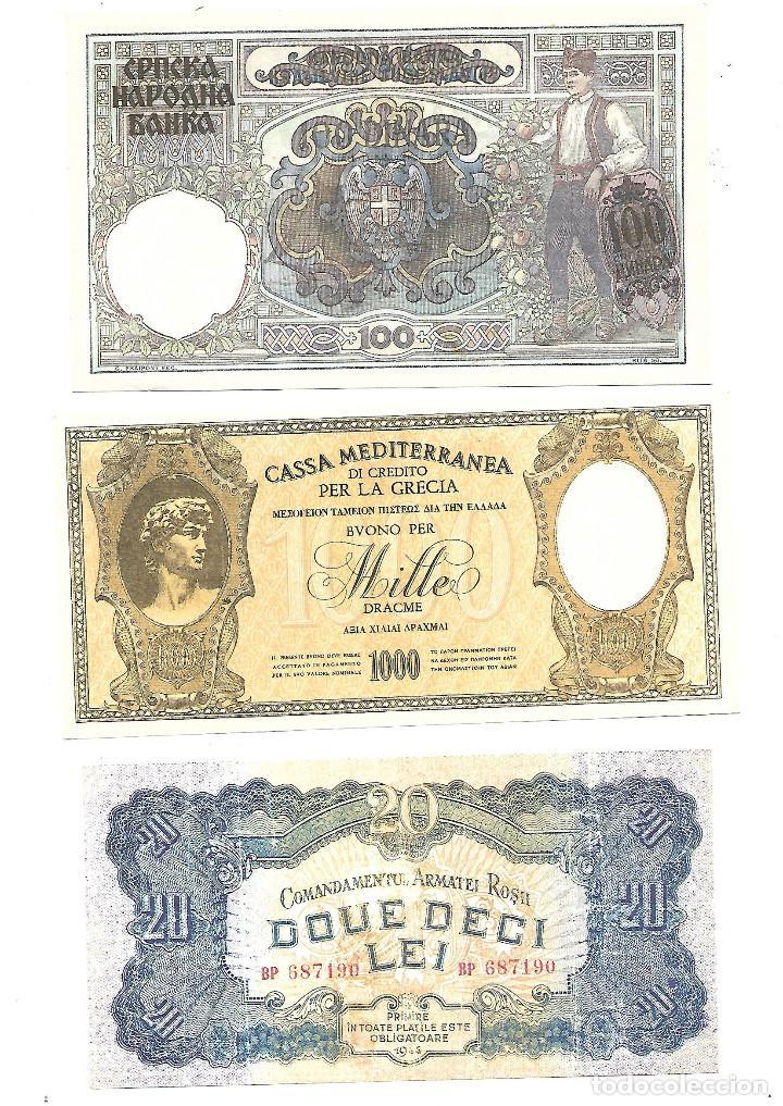 Sellos: BILLETES DE LA COLECCION 70 aniversario de la II guerra mundial. Sellos y Billetes. - Foto 5 - 197826920