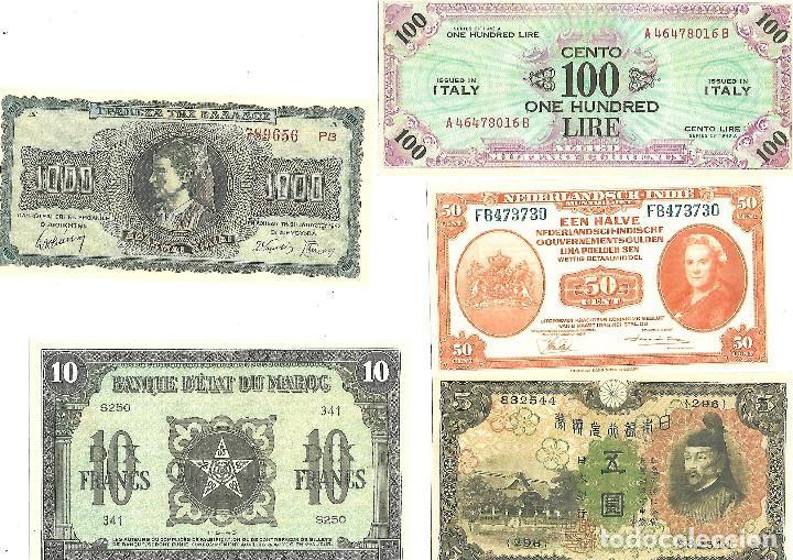 Sellos: BILLETES DE LA COLECCION 70 aniversario de la II guerra mundial. Sellos y Billetes. - Foto 7 - 197826920