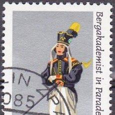 Sellos: 1978 - ALEMANIA - DDR - UNIFORME ESCUELA DE MINAS S XIX - YVERT 1989. Lote 198514861