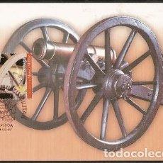 Sellos: PORTUGAL & MAXI, CAMPAÑAS LIBERALES, 150 AÑOS DEL MUSEO MILITAR, LISBOA 2001 (6868). Lote 198583230