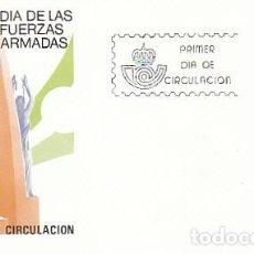 Sellos: EDIFIL 2710, DIA DE LAS FUERZAS ARMADAS EN BURGOS, PRIMER DIA DE 26-5-1983 SOBRE DEL SFC. Lote 200660782