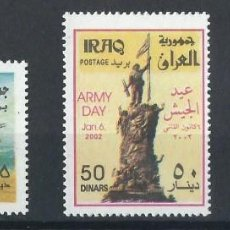 Sellos: SELLOS IRAK / IRAQ 2002 Y&T 1479/81** ARMY DAY . Lote 200881290