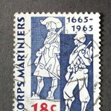 Sellos: 1965 HOLANDA 300 ANIVERSARIO FUERZAS NAVALES. Lote 204478348