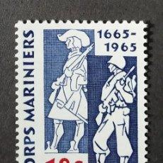 Sellos: 1965 HOLANDA 300 ANIVERSARIO FUERZAS NAVALES. Lote 204478480