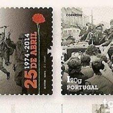 Sellos: PORTUGAL ** & 40 AÑOS DE DEMOCRACIA EN PORTUGAL, 25 DE ABRIL DE 1974-2014 (6863). Lote 204486157