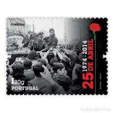 Sellos: PORTUGAL ** & 40 AÑOS DE DEMOCRACIAL, 25 DE ABRIL, LA REVOLUCIÓN DE LOS CLAVELES 1974-2014 (6861). Lote 204643123