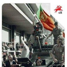 Sellos: PORTUGAL ** & PGSB 40 ANOS DE DEMOCRACIA EN PORTUGAL, 25 DE ABRIL, LISBOA 1974-2014 (3422). Lote 204846861