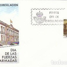 Sellos: EDIFIL 2849, DIA FUERZAS ARMADAS EN CANARIAS PRIMER DIA DE 16-5-1986, SFC. Lote 206367690