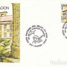 Sellos: EDIFIL 2790, DIA DE LAS FUERZAS ARMADAS, PRIMER DIA ESPECIAL DE 24-5-1985 SOBRE DEL SFC. Lote 206368476