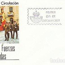 Sellos: EDIFIL 2617, DIA DE LAS FUERZAS ARMADAS, PRIMER DIA DE 23-5-1981 SFC. Lote 206369910