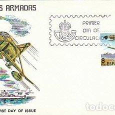 Sellos: EDIFIL 2572, DIA DE LAS FUERZAS ARMADAS, PRIMER DIA DE MADRID DE 24-5-1980 ALFIL. Lote 206370183