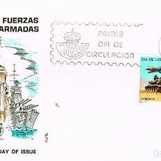 Sellos: EDIFIL 2525, DIA DE LAS FUERZAS ARMADAS, PRIMER DIA DE 25-5-1979 ALFIL. Lote 211999146
