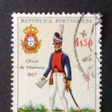 Sellos: 1966 ANGOLA UNIFORMES MILITARES PORTUGUESES. Lote 221571363