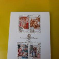 Sellos: CALVARIO/SOLDADOS FLAMENCOS NAUFRAGIO TELEMACO/FLORISTAS TAPICES ESPAÑA 3090 HISTORIA MILITAR ARTE. Lote 222301551