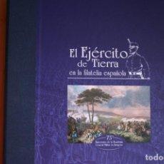 Sellos: EL EJÉRCITO DE TIERRA EN LA FILATELIA ESPAÑOLA 1927-2002. EXCELENTE ESTADO Y COMPLETO.. Lote 224770531