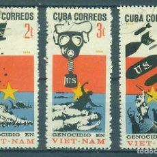 Sellos: 1236 CUBA 1966 U GENOCIDE IN VIET-NAM. Lote 226311540