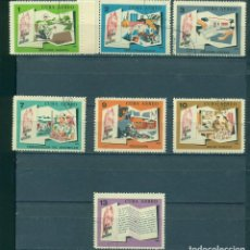 Sellos: 1189 CUBA 1966 U AIRMAIL - CONQUESTS OF THE REVOLUTION. Lote 226312185