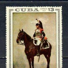 Sellos: 1503 CUBA 1969 MNH PAINTINGS IN NAPOLEONIC MUSEUM, HAVANA. Lote 226312346