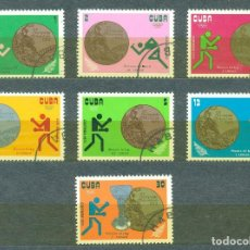 Sellos: 1843 CUBA 1973 U CUBAN MEDALS IN OLYMPIC GAMES - MUNICH 1972, GERMANY. Lote 226313240
