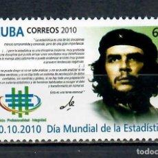 Sellos: 5479 CUBA 2010 MNH WORLD STATISTICS DAY - CHE GUEVARA, 1928-1967. Lote 228165047