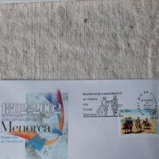Sellos: EDIFIL 3897 ESPAÑA 2002 MENORCA ESPAÑA ADHESIÓN CORONA ESPAÑOLA BICENTENARIO. Lote 237252440