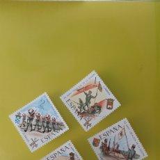 Sellos: MILITAR LA LEGIÓN ESPAÑA 1971 EDIFIL 2043/6 SERIE COMPLETA NUEVA O USADA. Lote 239828495