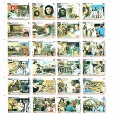Sellos: CUBA 2009 THE 50TH ANNIVERSARY OF THE REVOLUTION MNH - ERNESTO CHEGEVARA, FIDEL CASTRO. Lote 241497585