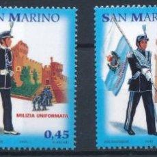 Sellos: SAN MARINO 2005 IVERT 1991/4 *** LA MILICIA CON UNIFORME MILITAR DE SAN MARINO. Lote 243423925