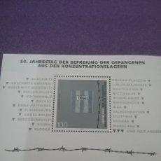 Sellos: HB ALEMANIA R. FEDERAL NUEVO/1995/LANIV/FIN/2GUERRA/MUNDIAL/RUINAS/MILITAR/LIBERACION/CAMPO/CONCENTR. Lote 243570270