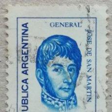 Sellos: 1973. ARGENTINA. 949. GENERAL JOSÉ DE SAN MARTÍN. USADO.. Lote 244880960