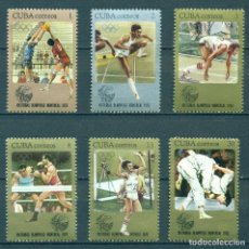 Sellos: ⚡ DISCOUNT CUBA 1976 THE CUBAN VICTORIES IN MONTREAL OLYMPIC GAMES NG - SPORT, VOLLEYBALL,. Lote 248384305