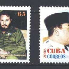 Sellos: ⚡ DISCOUNT CUBA 2008 VISIT BY INDONESIAN PRESIDENT SUKARNO MNH - ERNESTO CHEGEVARA, STATE LE. Lote 253847570