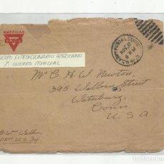 Sellos: CUERPO EXPEDICIONARIO AMERICANO PRIMERA GUERRA MUNDIAL CIRCULADA 1919 A WATERBOURG USA. Lote 259779675