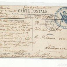 Sellos: POSTAL BEAULIEU REGIMIENTO INFANTERIA PRIMERA GUERRA MUNDIAL CIRCULADA 1915 D NICE A AVIGNON FRANCIA. Lote 259780725
