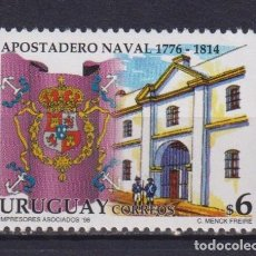 Sellos: ⚡ DISCOUNT URUGUAY 1998 THE 220TH ANNIVERSARY OF THE ESTABLISHMENT OF THE FIRST SPANISH NAVAL. Lote 260585145